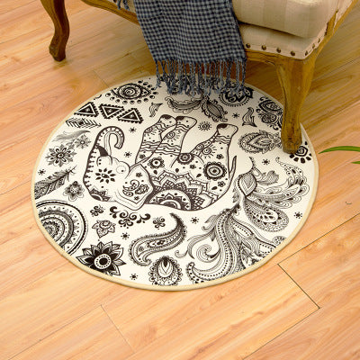 Indian Mandala Round Mat *WORLDWIDE FREE SHIPPING*