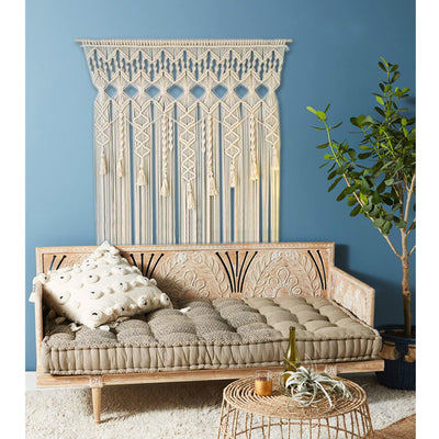 Large Macrame Hand-knitted Tapestry *FREE DELIVERY*