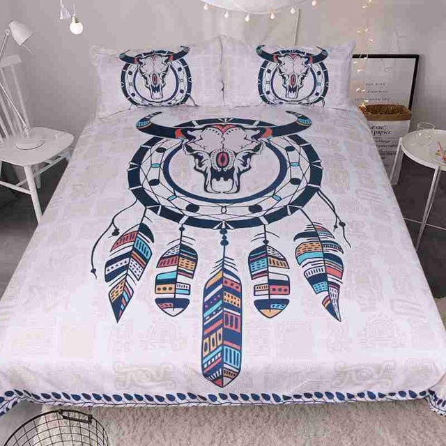 Eagle, Owl & Sheep Skull Dreamcatcher Bed Cover Sets *FREE SHIPPING*