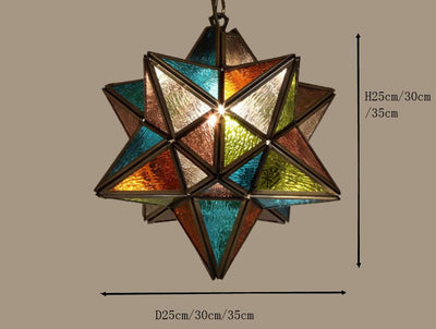 Copper Star Pendant Lamp *WORLDWIDE FREE SHIPPING*