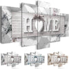 Heart Is Where The Home Is - 5 Panel Canvas *FREE SHIPPING*