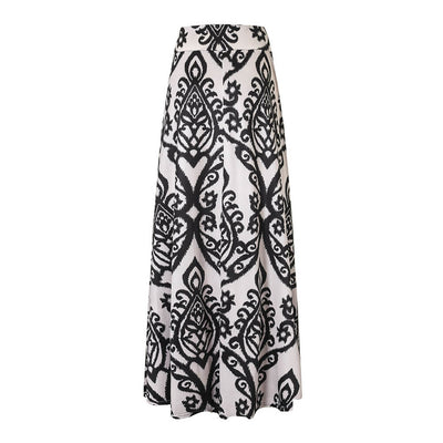 Coral Print High Waist Skirt *FREE SHIPPING*