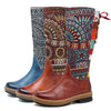 Bohemian Leather Boots *FREE SHIPPING*