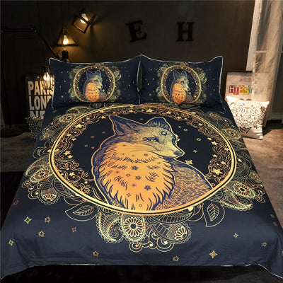 Golden Wolf Bedding Set *FREE SHIPPING*