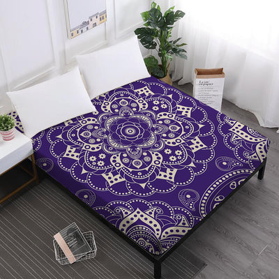 Radiant Mandala Fitted Sheet *FREE SHIPPING*