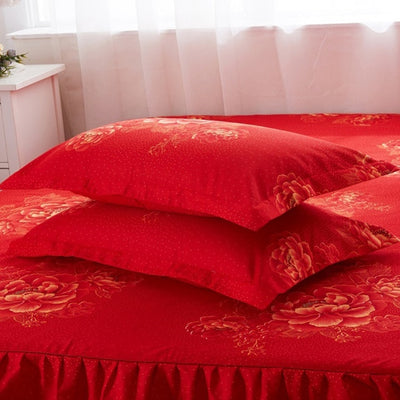 Paint it Red Bed Skirt *FREE SHIPPING*