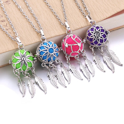 Aroma Feather Locket *FREE WORLDWIDE SHIPPING*