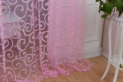 Tulip Sheer Curtains 1M*2M *WORLDWIDE FREE SHIPPING*