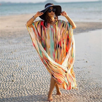 Bohemian Printed Beach Kaftan *WORLDWIDE FREE SHIPPING*