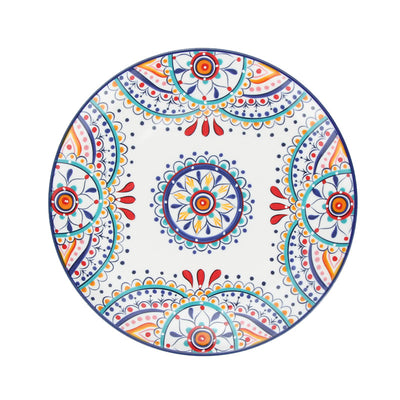 *HAND PAINTED* Boho Henna Ceramic Plate *WORLDWIDE FREE SHIPPING*