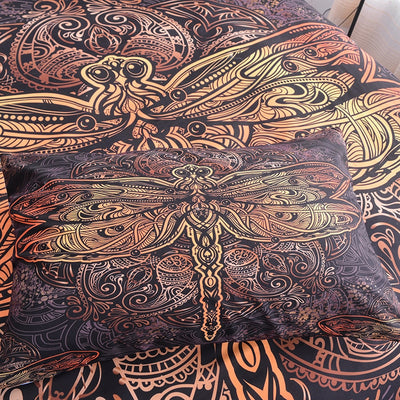 Dragonfly Mandala Bedding Set *WORLDWIDE FREE SHIPPING*