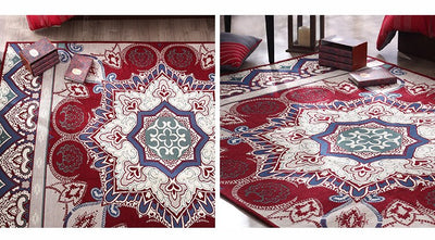 Chenille Persian Colorful Carpet *WORLDWIDE FREE SHIPPING*