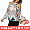 Lisa's Boho Off Shoulder Blouse *WORLDWIDE FREE SHIPPING*