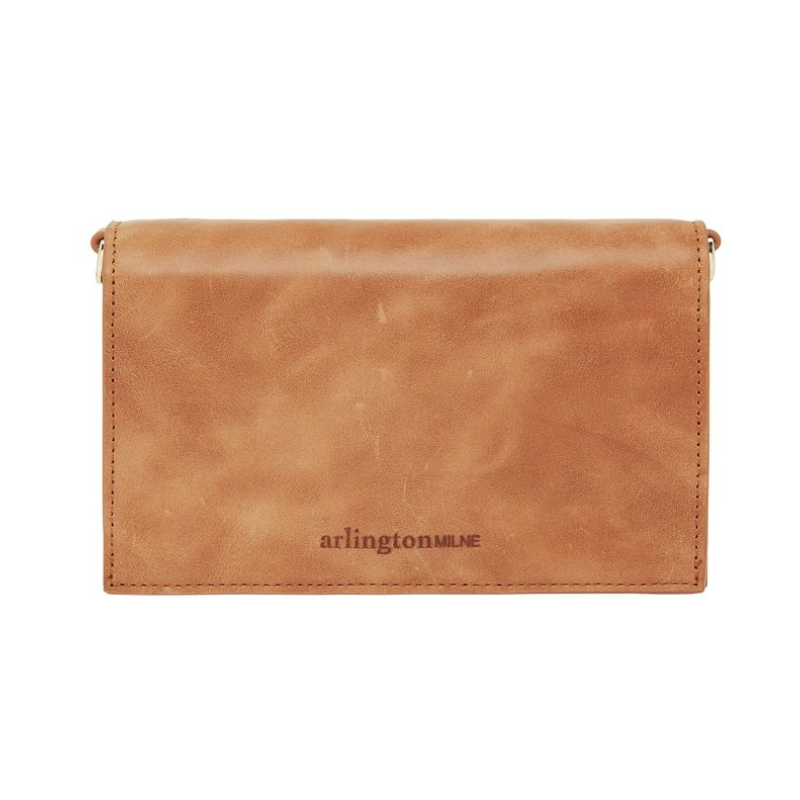Leather Soft Body Fold Style Wallet - Vintage Tan
