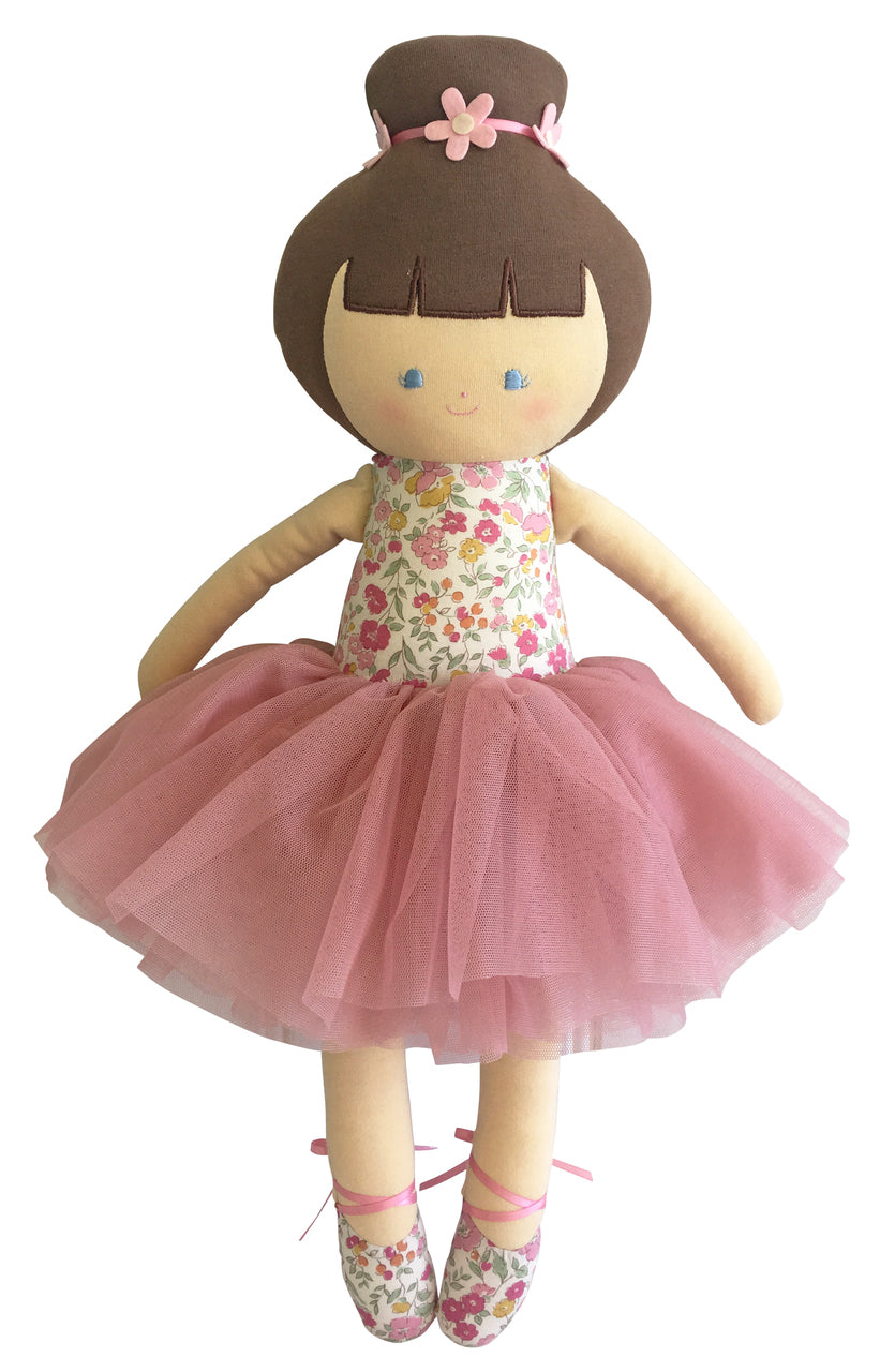 Big Ballerina Doll - Rose Garden