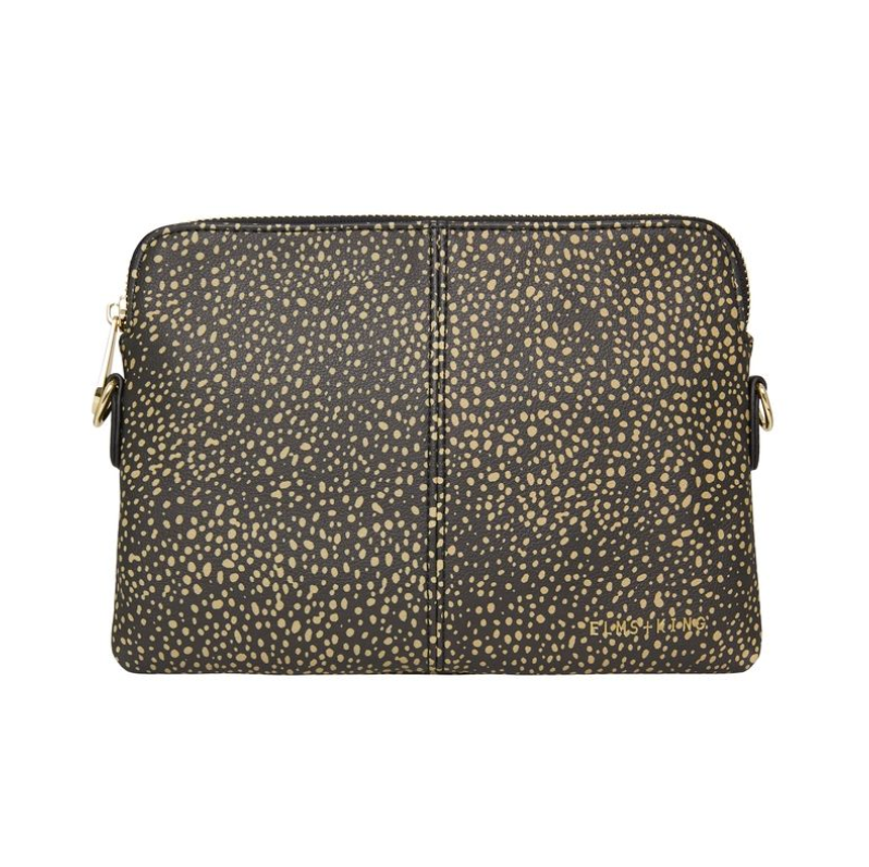 Dark Cheetah Double Crossbody