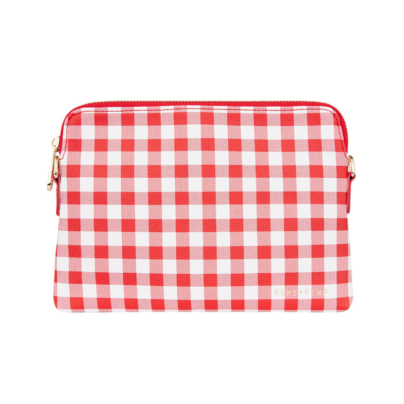 Red Gingham Crossbody