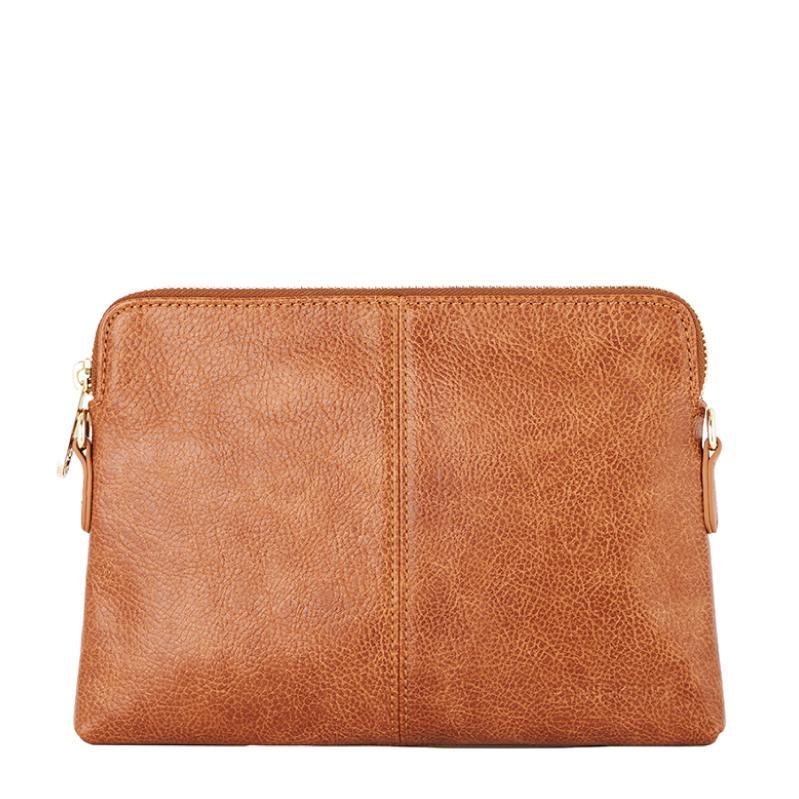 Tan Pebble Crossbody