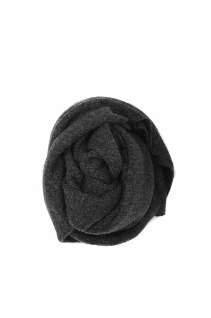 Cashmere Topper - Charcoal
