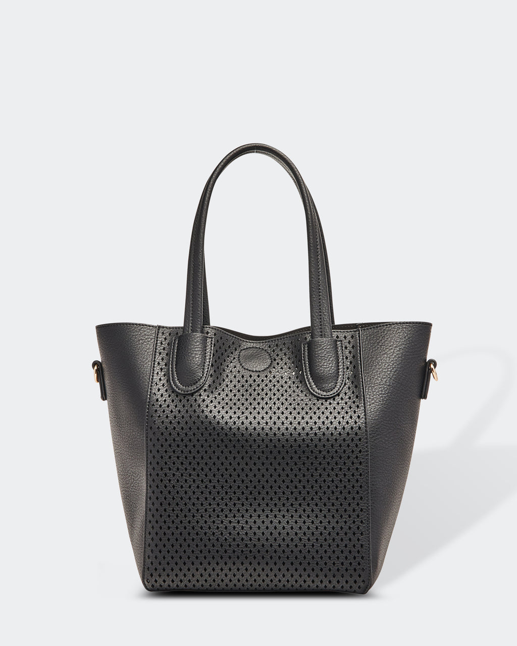 Laser Cut Bag in Black