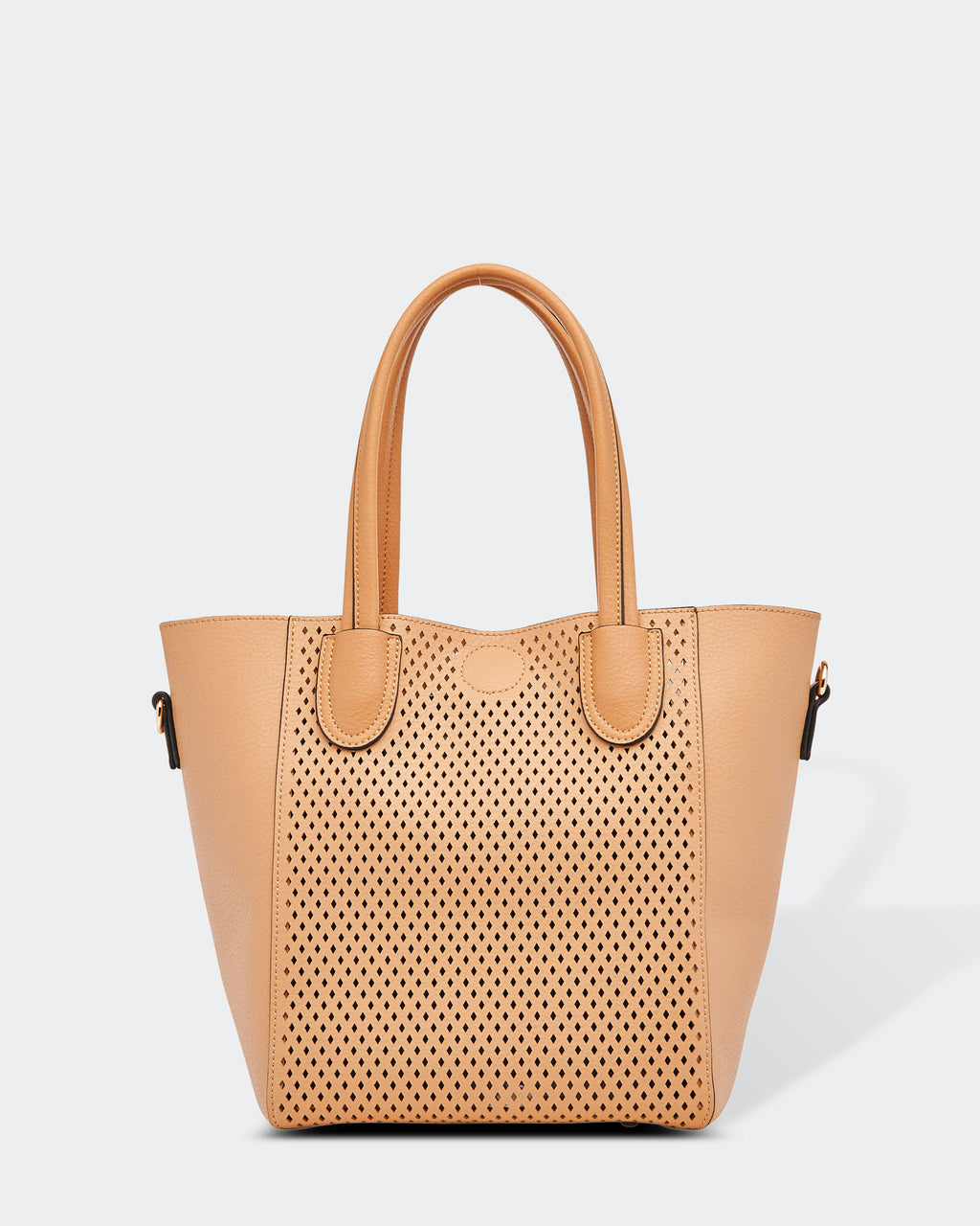 Laser Cut Bag Camel