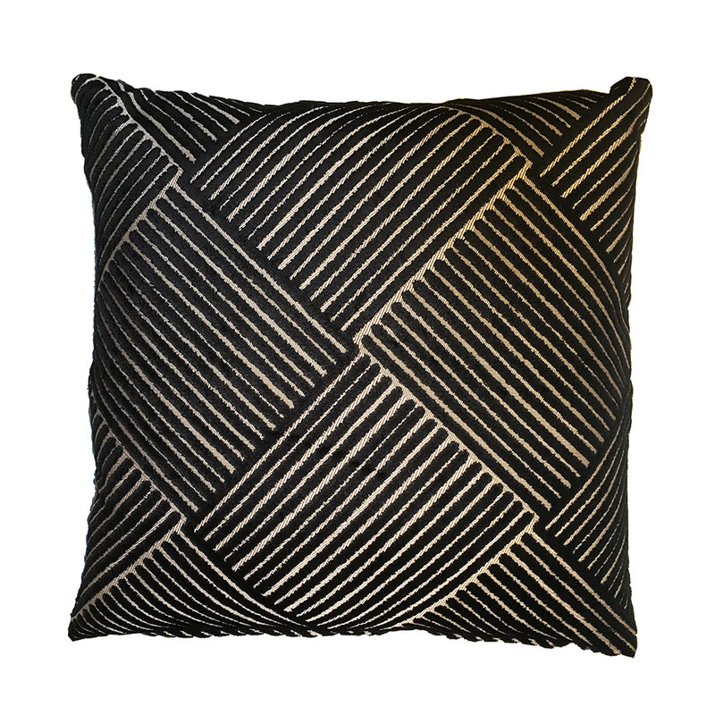 Signature Black Line Cushion