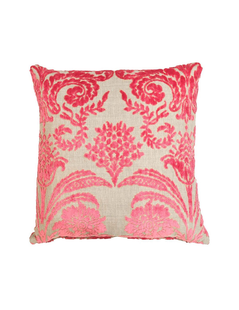 Signature Pink Velvet Cushion