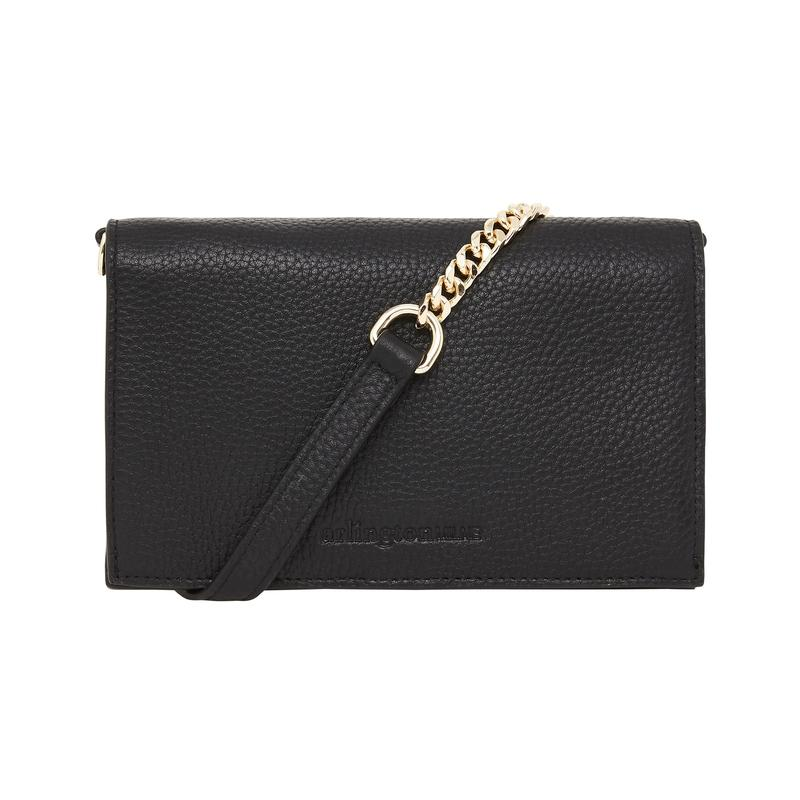 Leather Soft Body Fold Style Wallet - Black