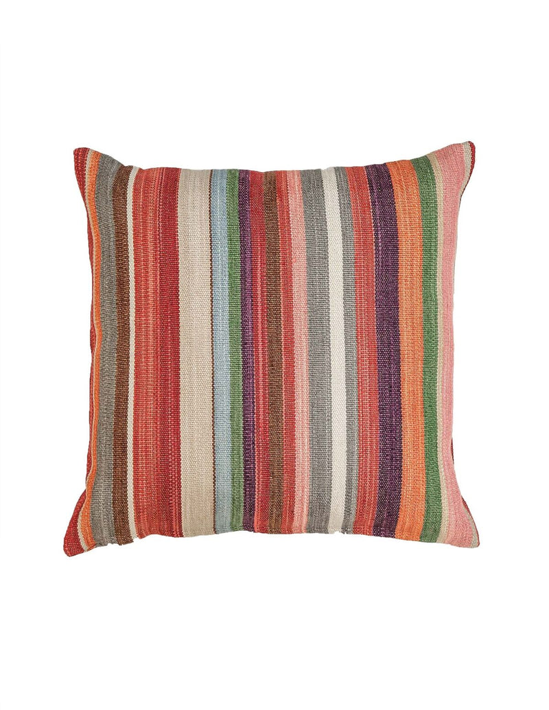 Signature Striped Cushion