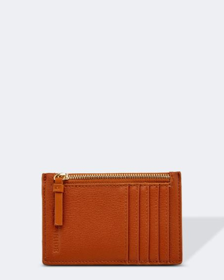 Cardholder in Tan