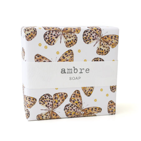 Signature Wrapped Soap - Ambre Butterfly