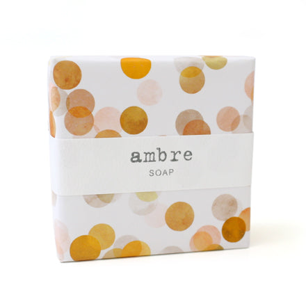 Signature Wrapped Soap - Ambre Spots