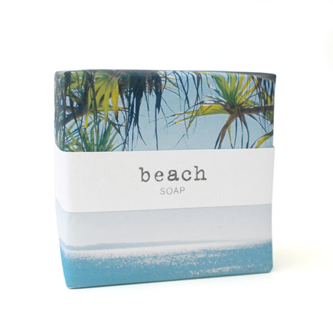 Signature Wrapped Soap - Beach Little Cove