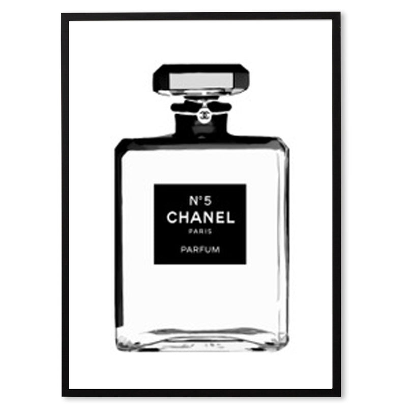 Chanel No. 5 Print - White