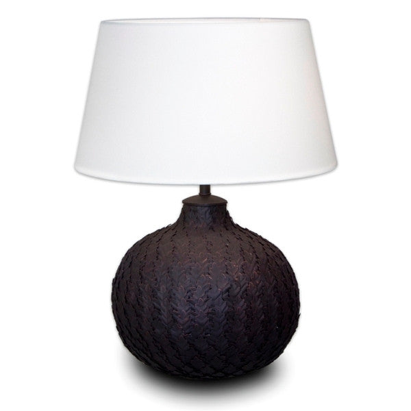 Black Leaf Lamp