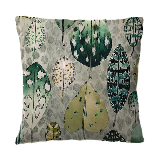 Signature Leaves Green Cushion