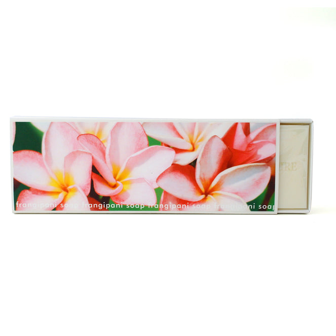 Signature Boxed Soap - Frangipani Design #1