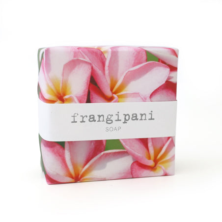 Signature Wrapped Soap - Frangipani Pink