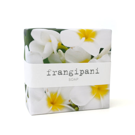 Signature Wrapped Soap - White Frangipani