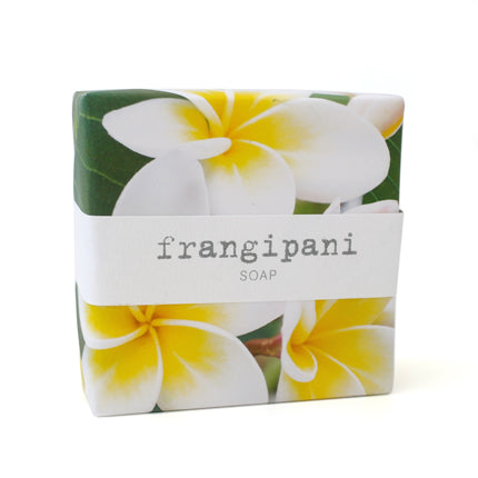 Signature Wrapped Soap - Yellow Frangipani