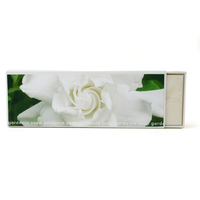 Signature Boxed Soap - Gardenia Design #1