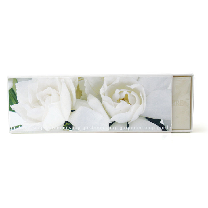 Signature Boxed Soap - Gardenia Design #2