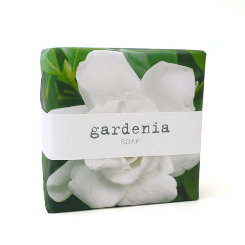 Signature Wrapped Soap - Gardenia Green