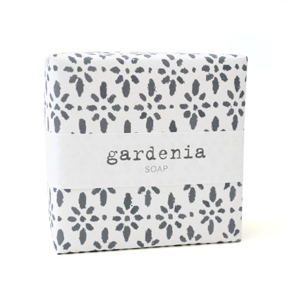 Signature Wrapped Soap - Gardenia Pattern