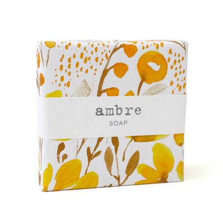 Signature Wrapped Soap - Ambre Floral