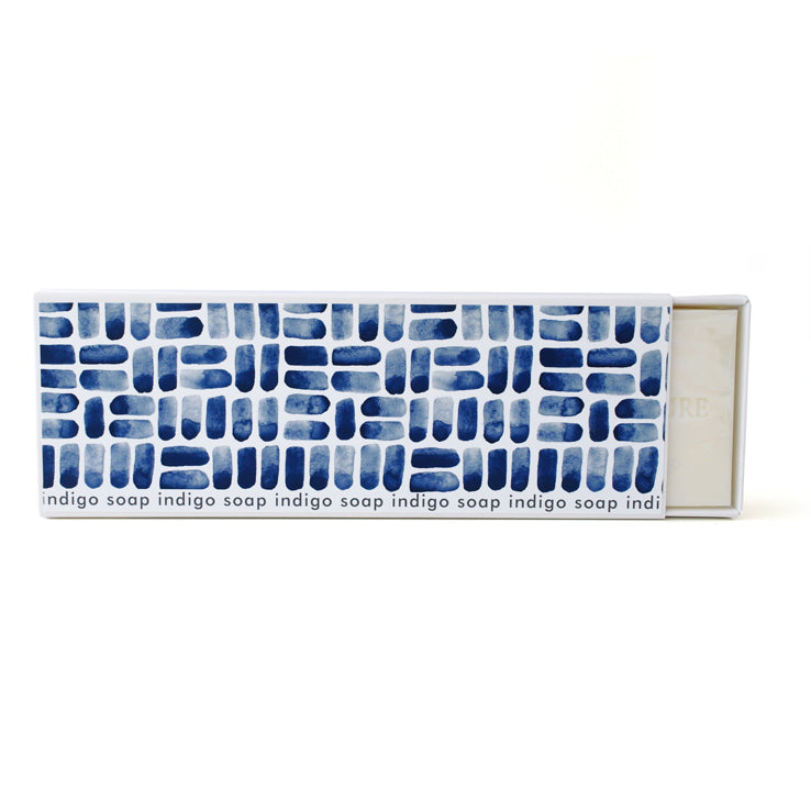 Signature Boxed Soap - Indigo Design #1