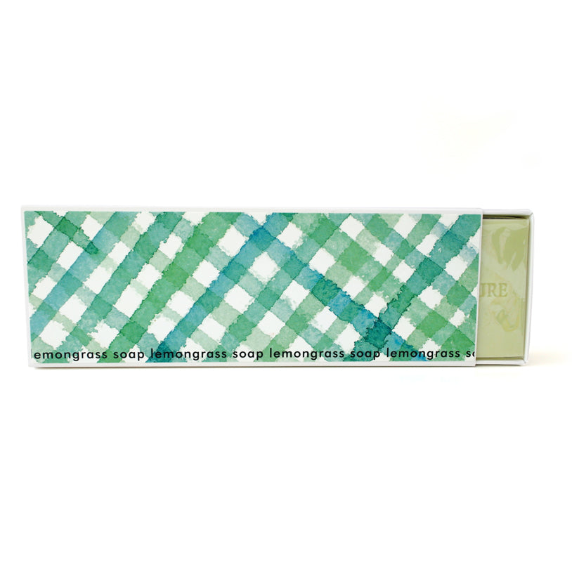 Signature Boxed Soap - Lemongrass Design #1