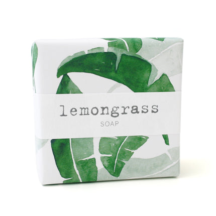 Signature Wrapped Soap - Lemongrass Leaves
