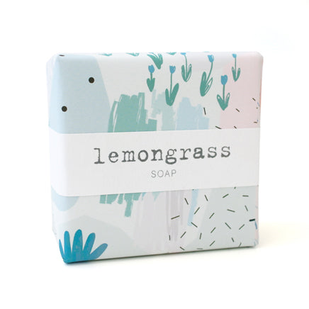 Signature Wrapped Soap - Lemongrass Abstract