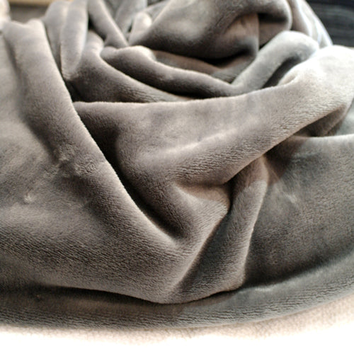 Fleece Throw - Grey